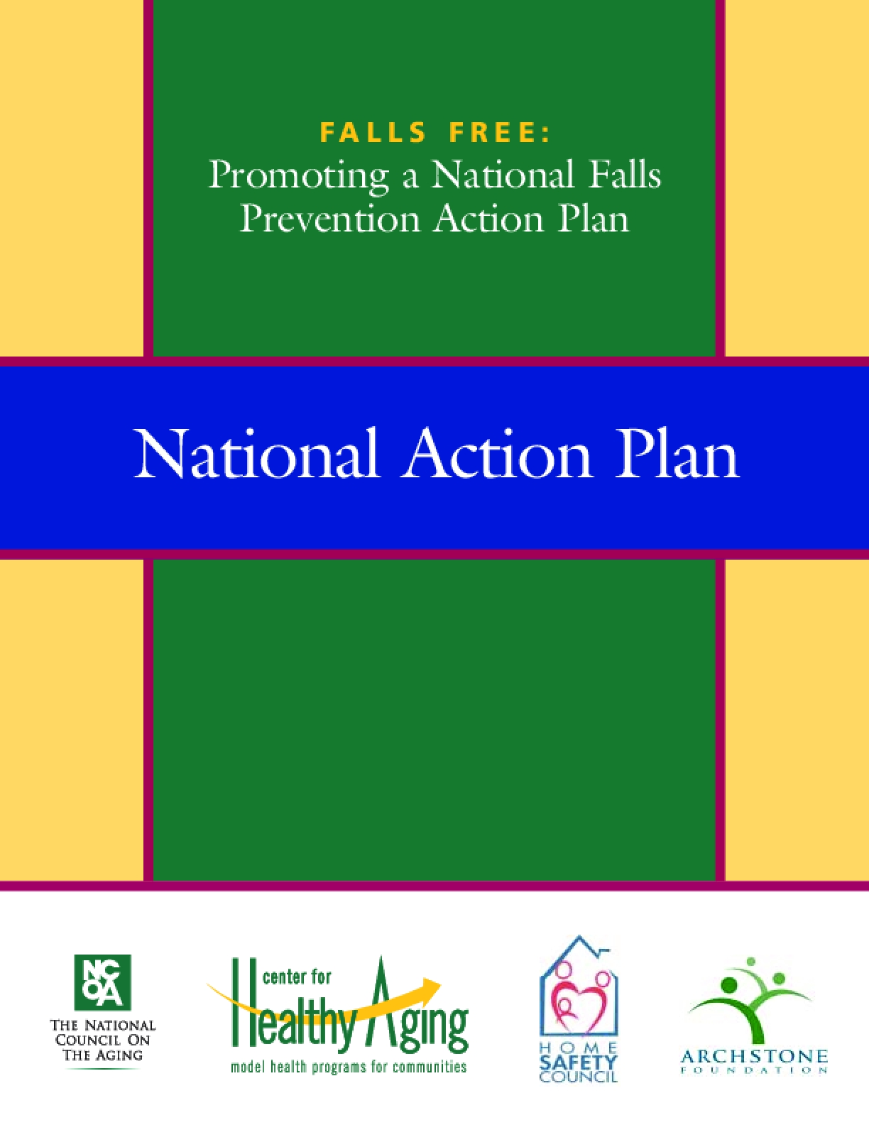 Falls Free: Promoting a National Falls Prevention Acton Plan
