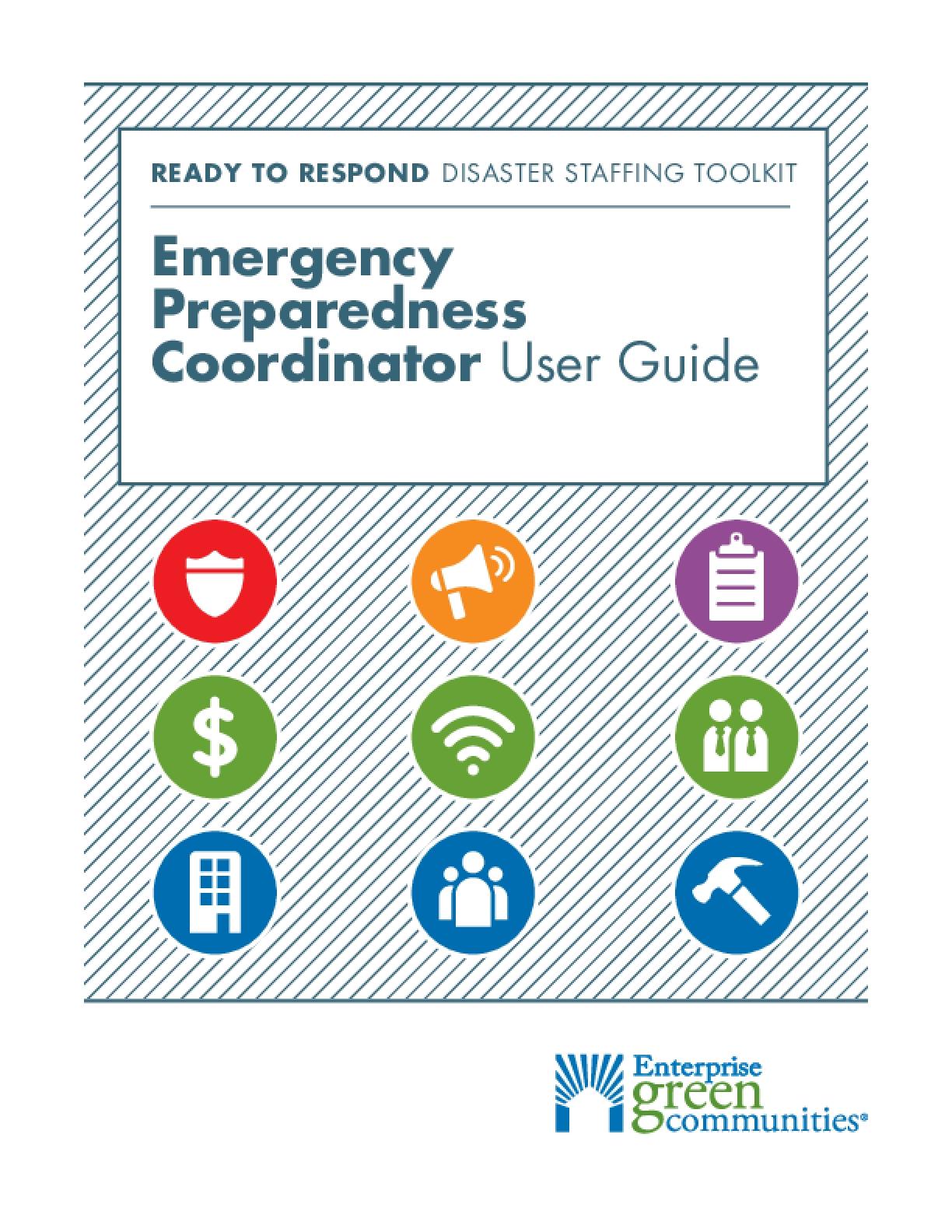 Emergency Preparedness Coordinator: User Guide