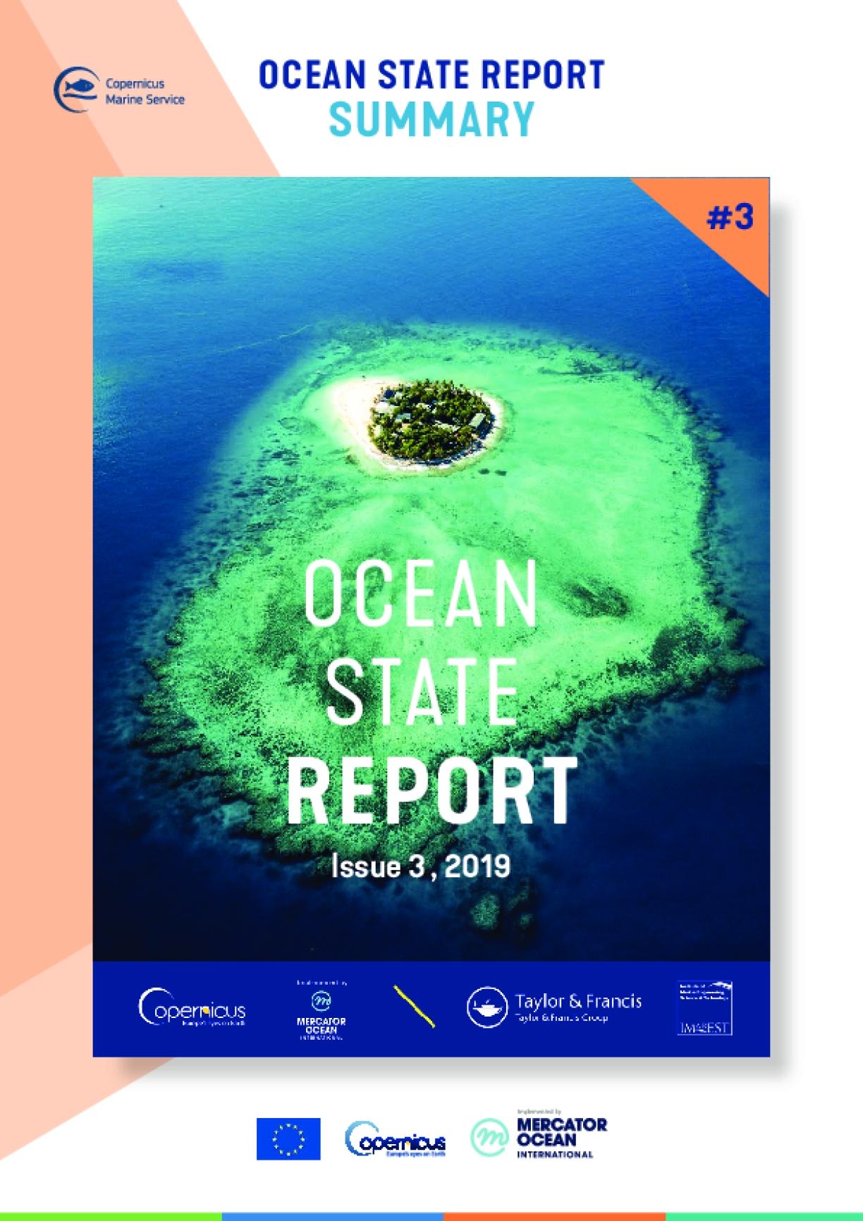 Copernicus Marine Service Ocean State Report, Issue 3