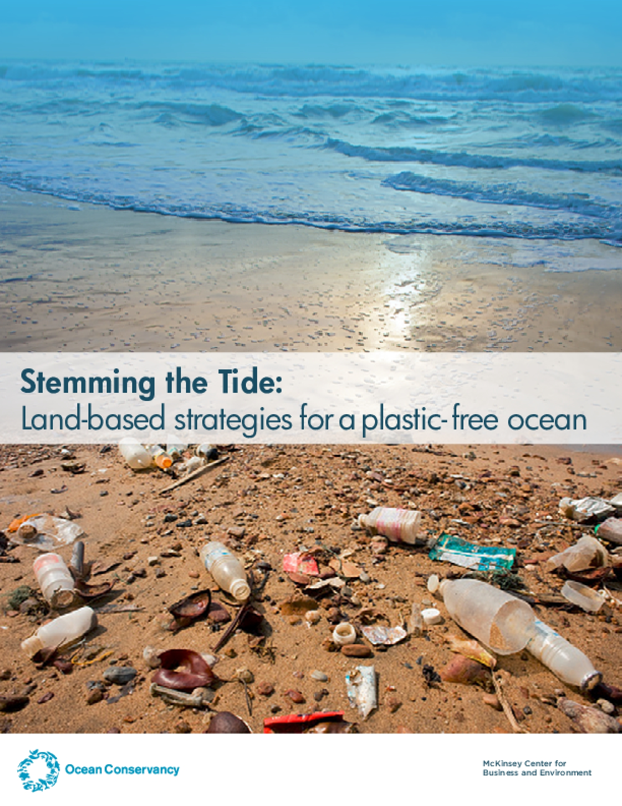 Stemming the Tide: Land-based strategies for a plastic free ocean