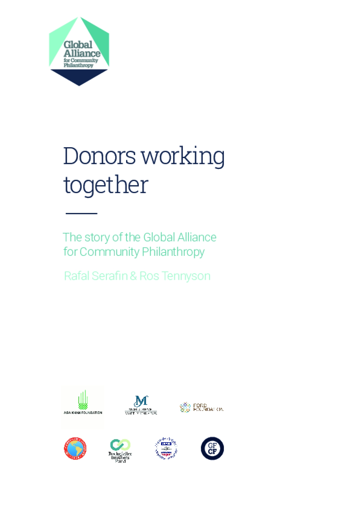 Donors working together: The story of the Global Alliance for Community Philanthropy