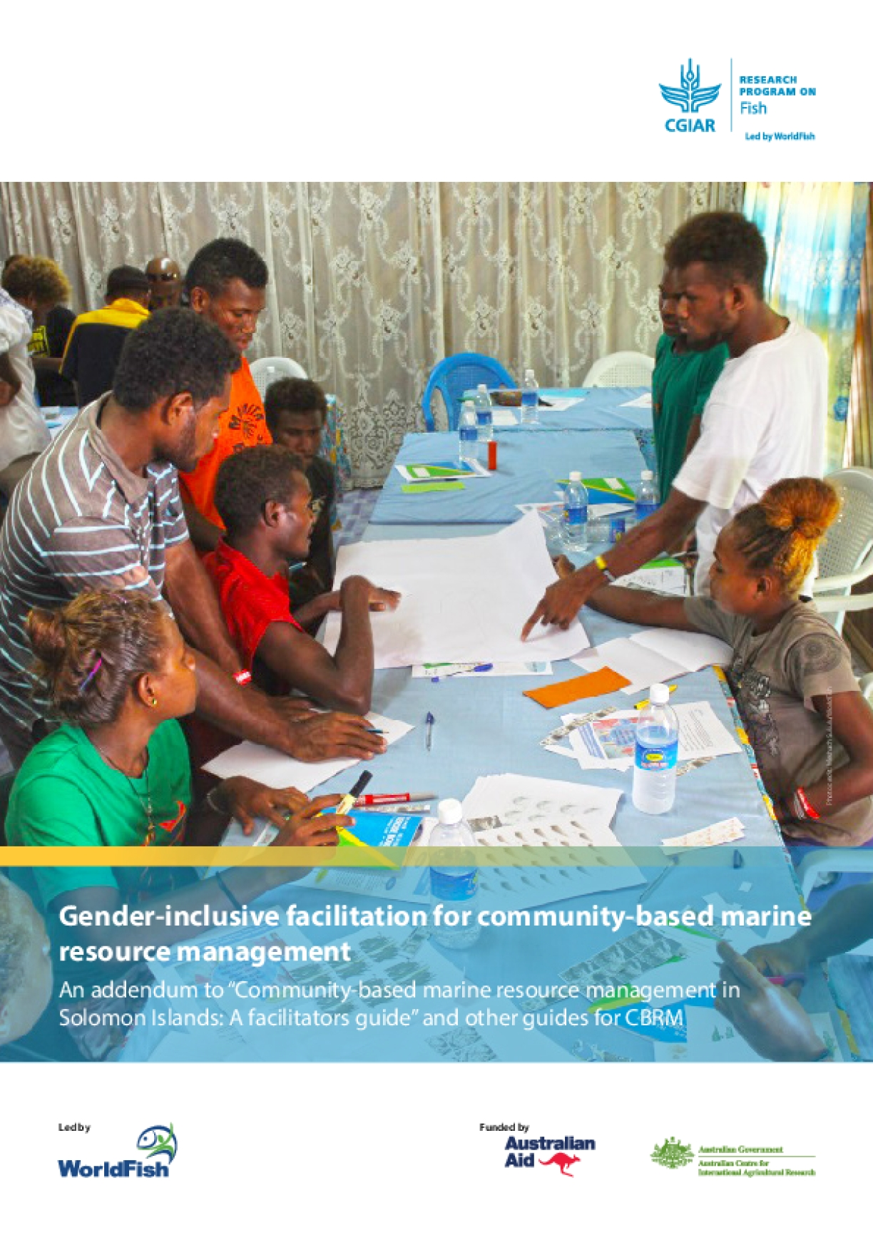 Gender-inclusive facilitation for community-based marine resource management