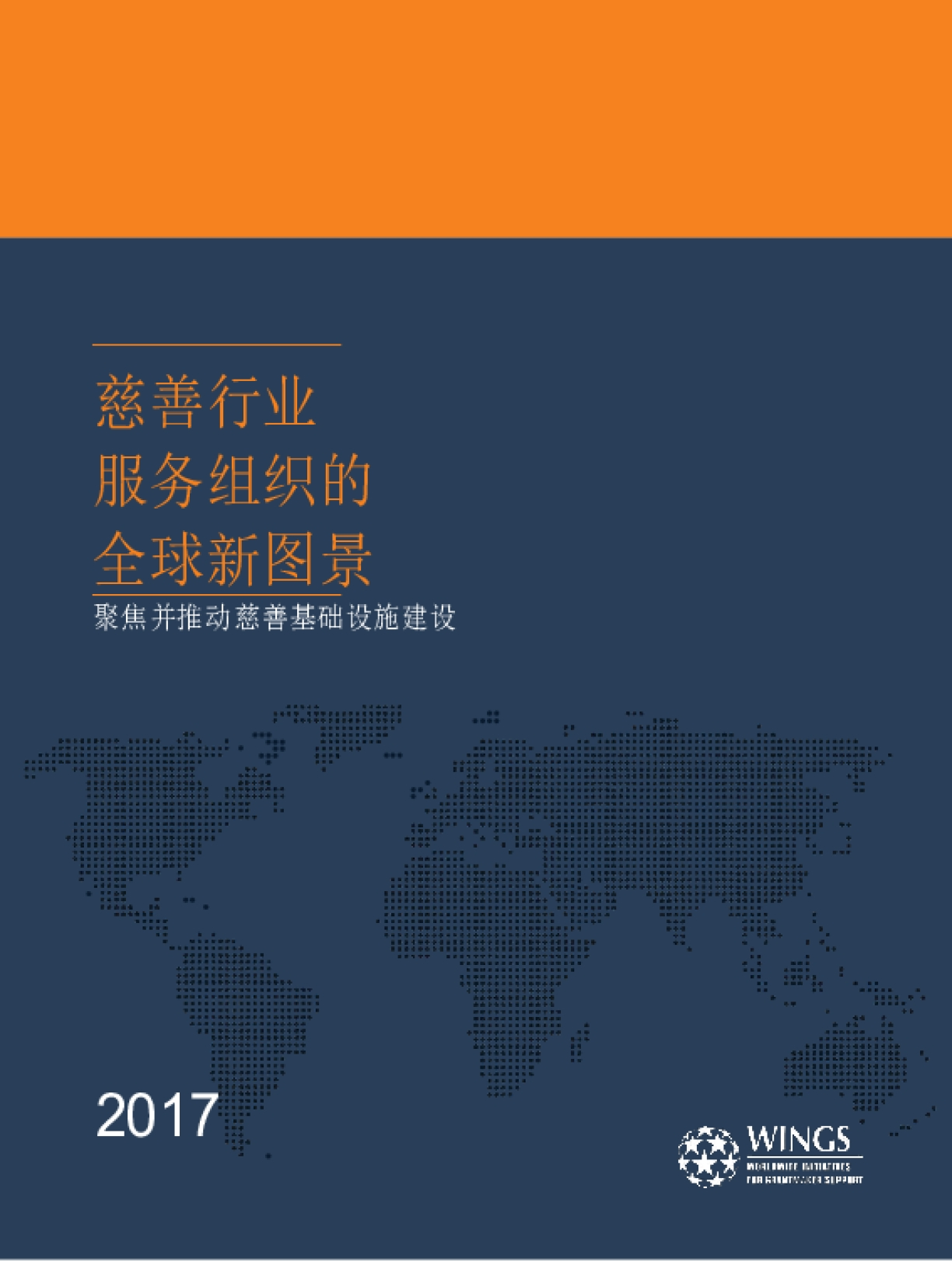 Infrastructure in Focus: A New Global Picture of Organizations Serving Philanthropy - Mandarin Chinese Version