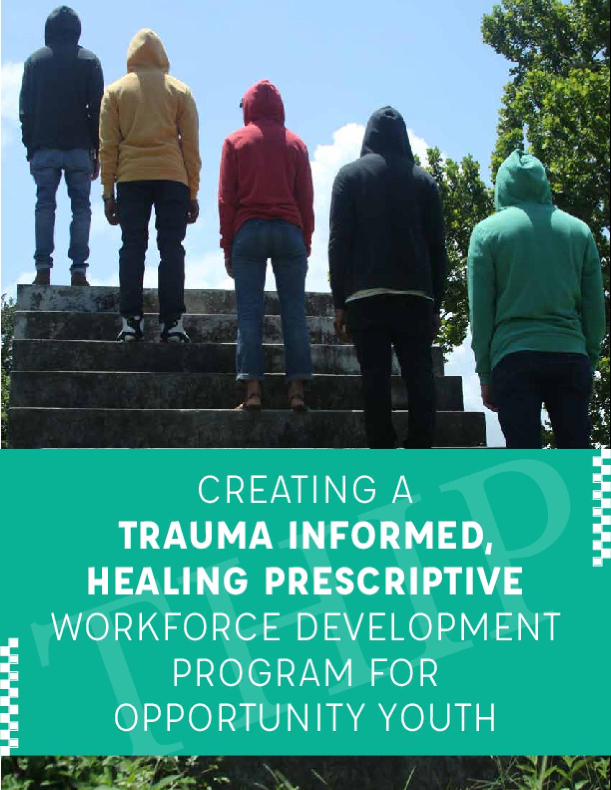 Creating a Trauma Informed Healing Prescriptive: Workforce Development Program for Opportunity Youth