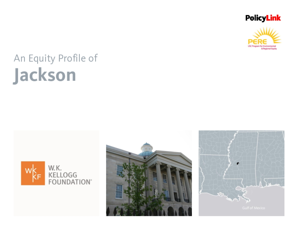An Equity Profile of Jackson