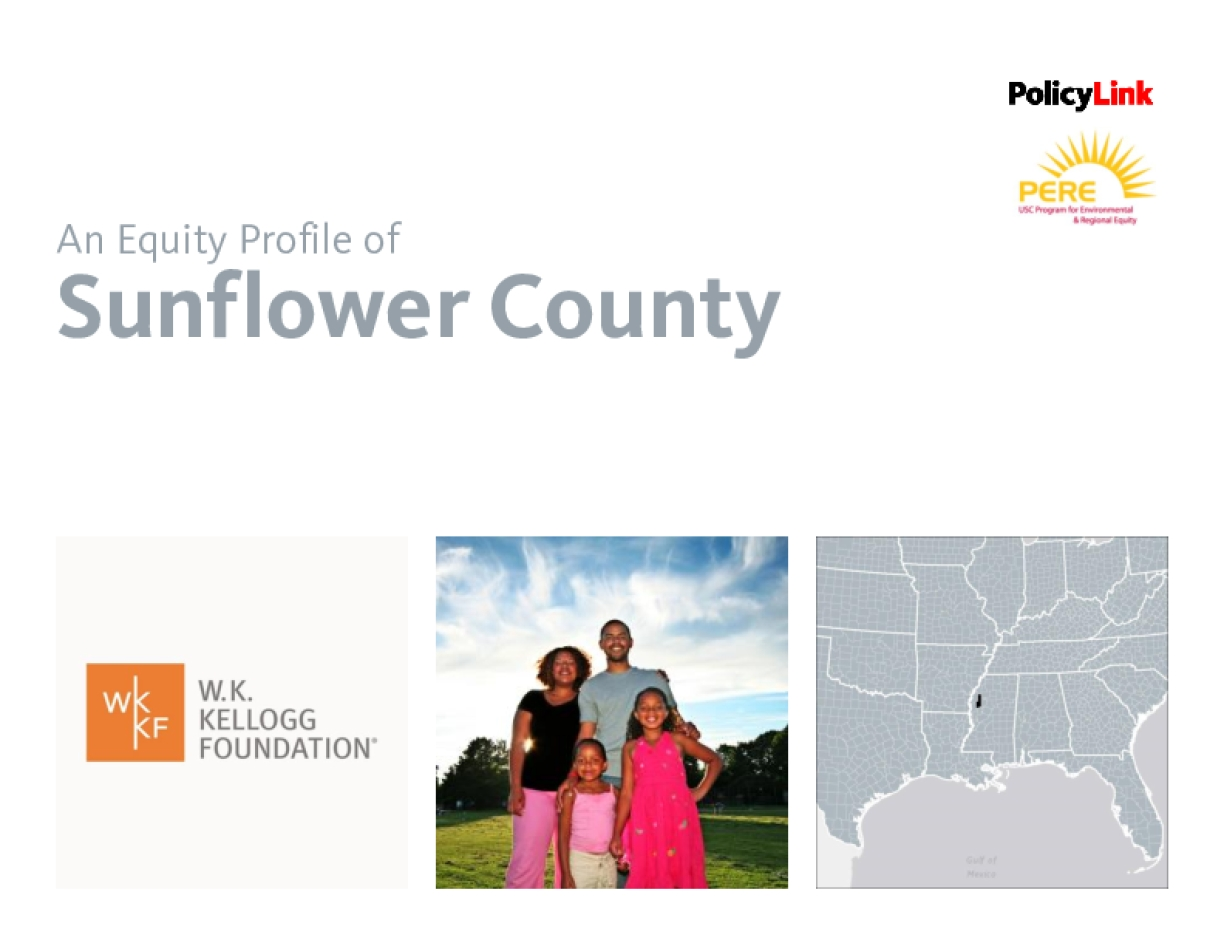 An Equity Profile of Sunflower County