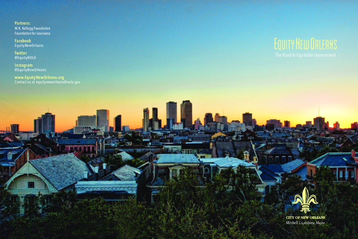Equity New Orleans: The Roadmap to Equitable Government