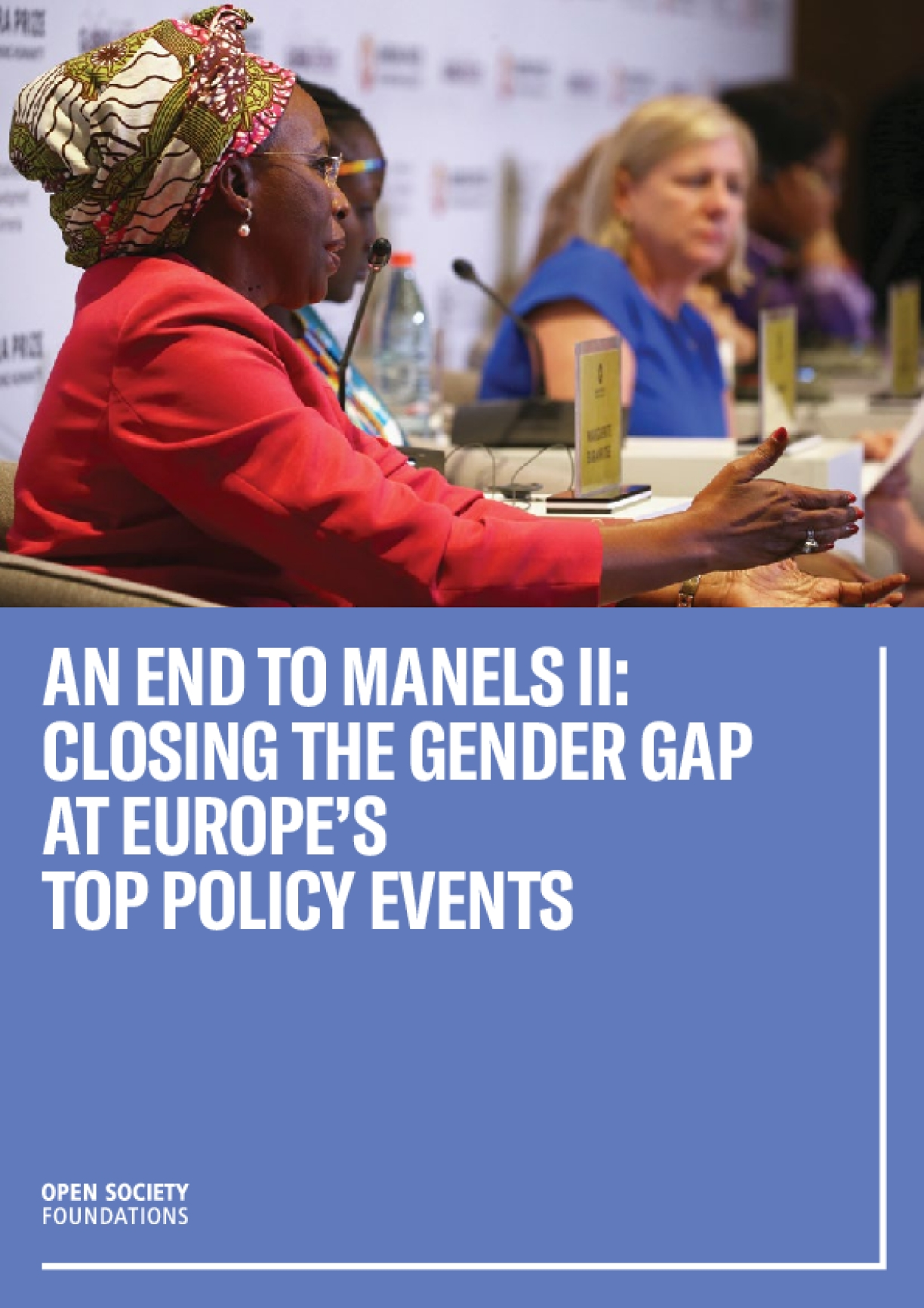 An End to Manels II: Closing the Gender Gap at Europe's Top Policy Events