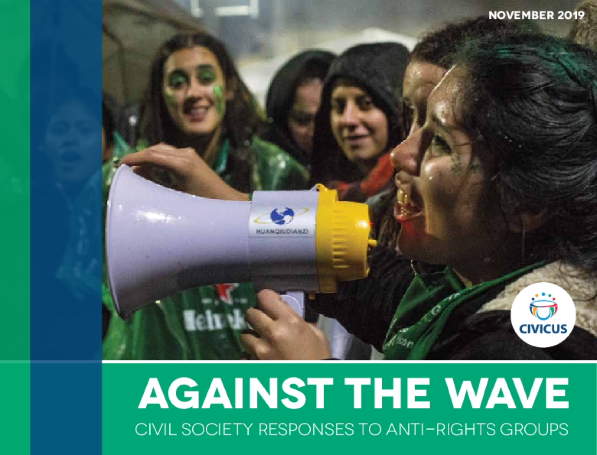 Against The Wave : civil society responses to anti-rights groups