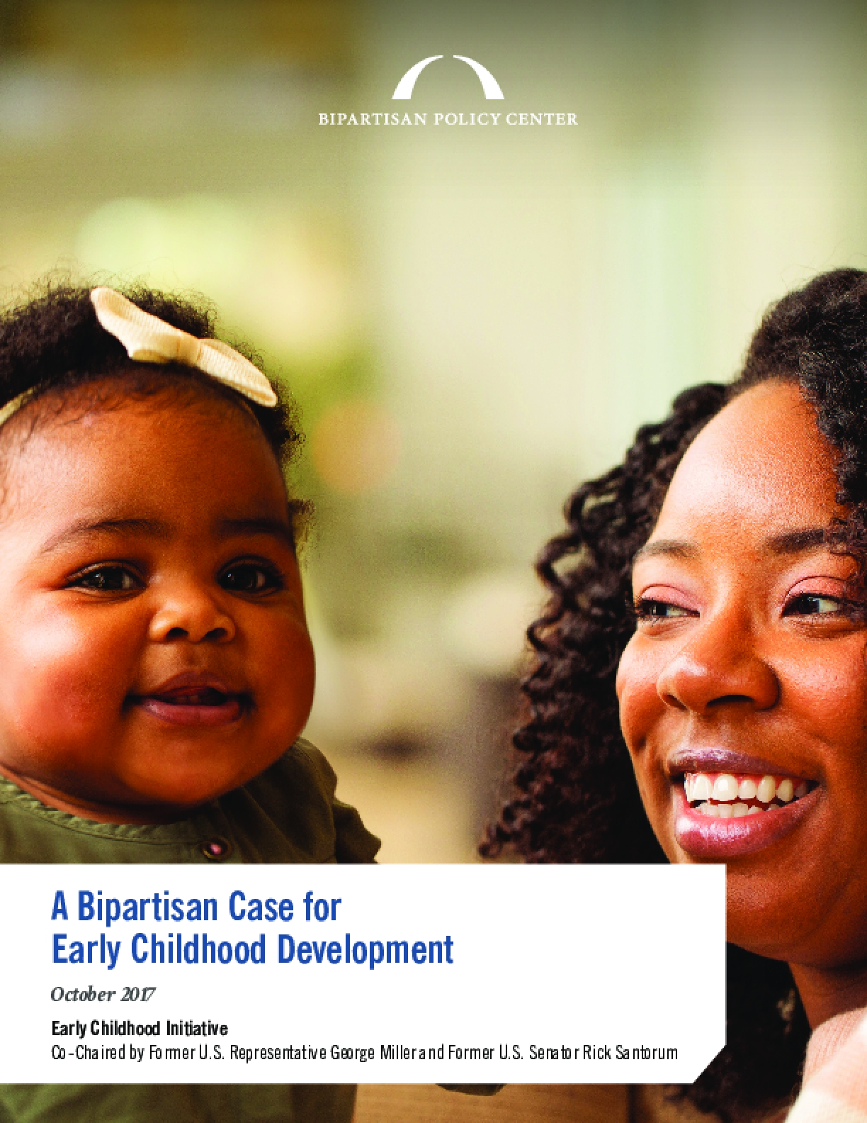 A Bipartisan Case for Early Childhood Development
