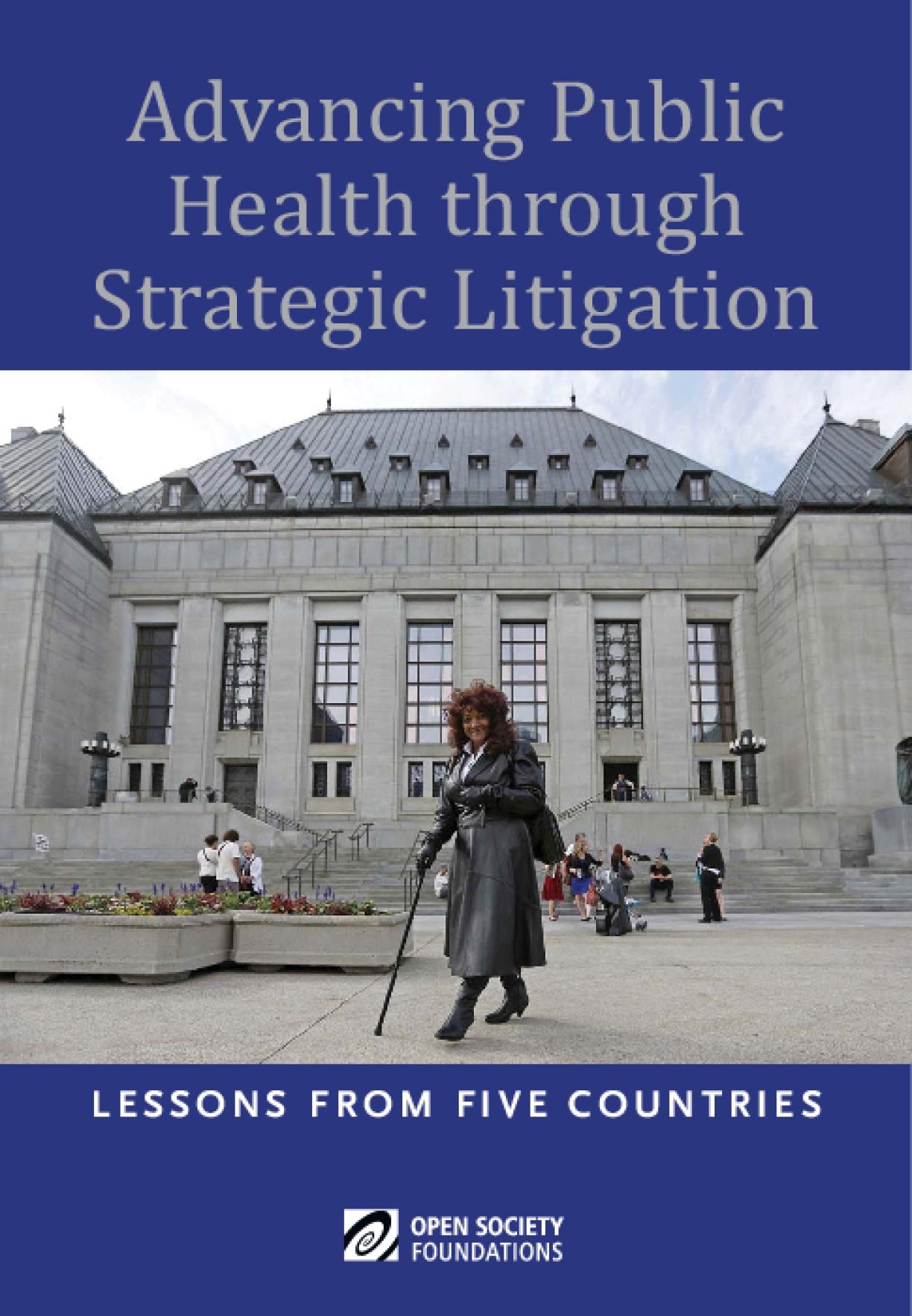 Advancing Public Health through Strategic Litigation