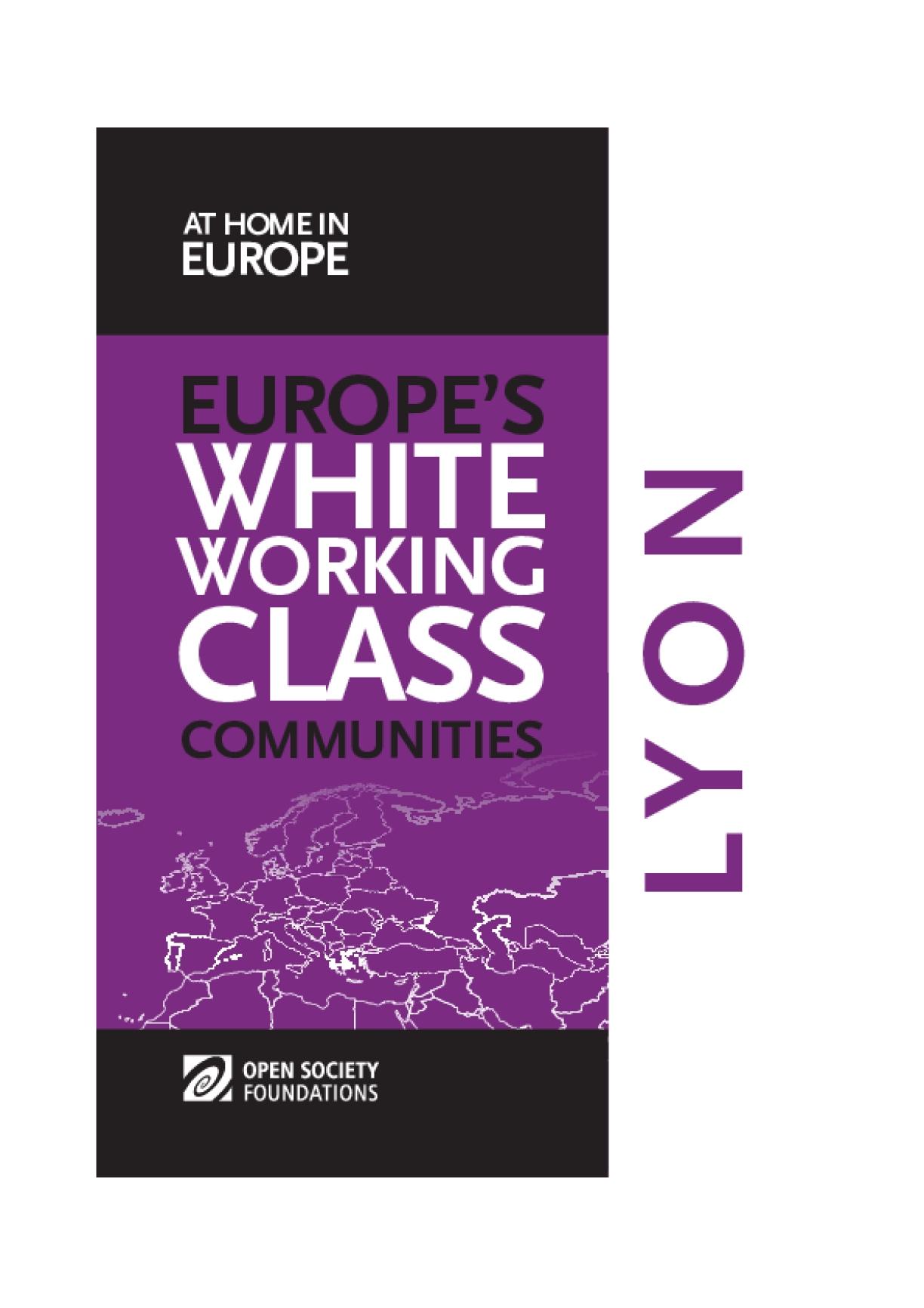 White Working Class Communities in Lyon
