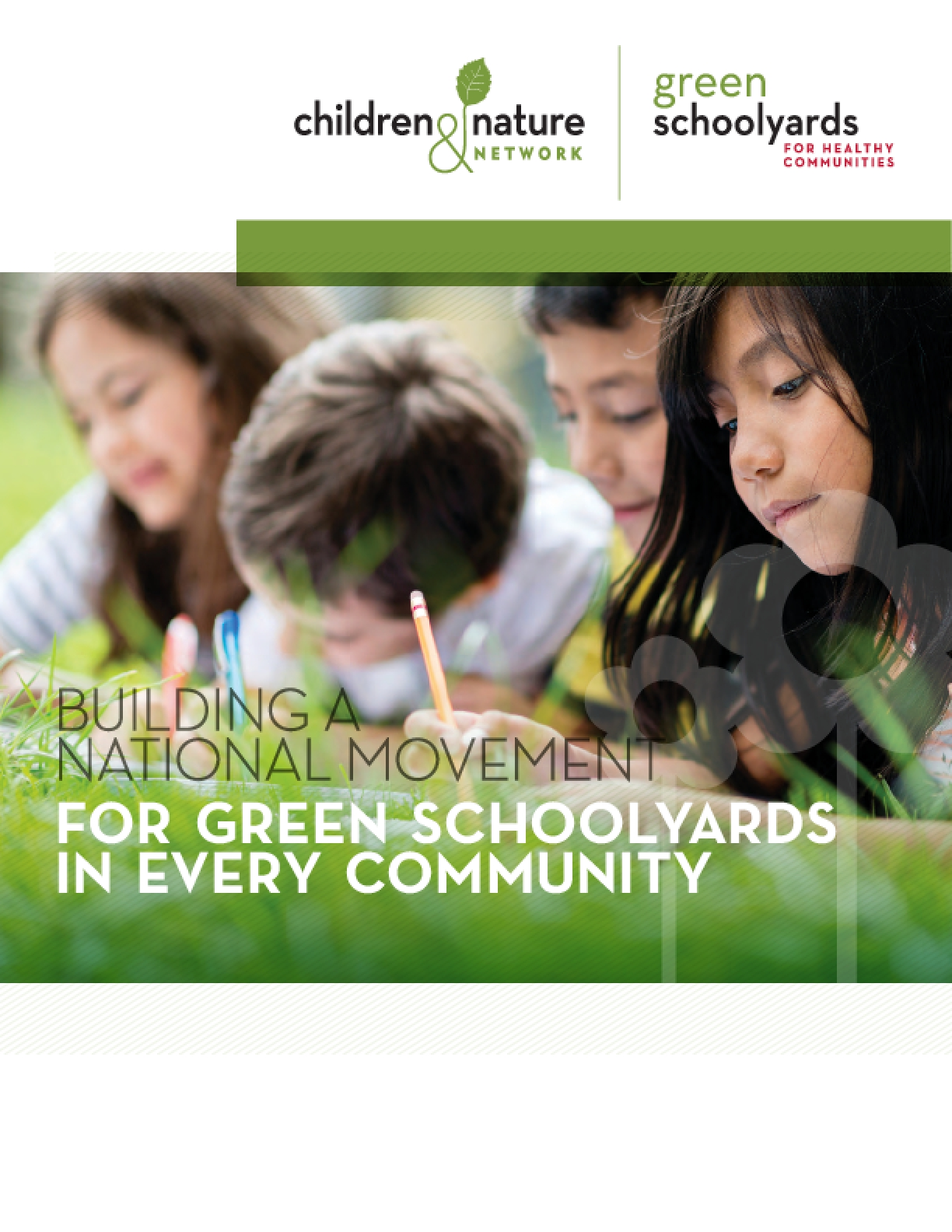 Building a National Movement for Green Schoolyards in Every Community