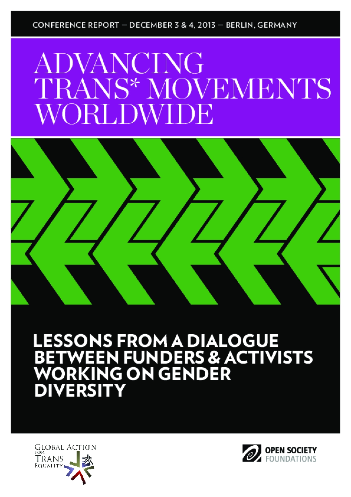 Advancing Trans* Movements Worldwide