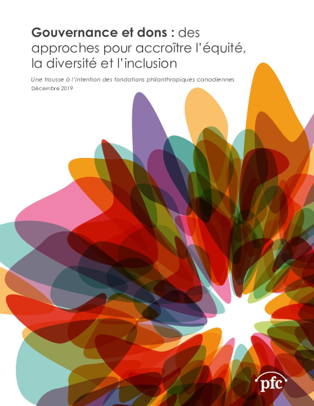 Gouvernance et dons : des approches pour accroître l'équité, la diversité et l'inclusion