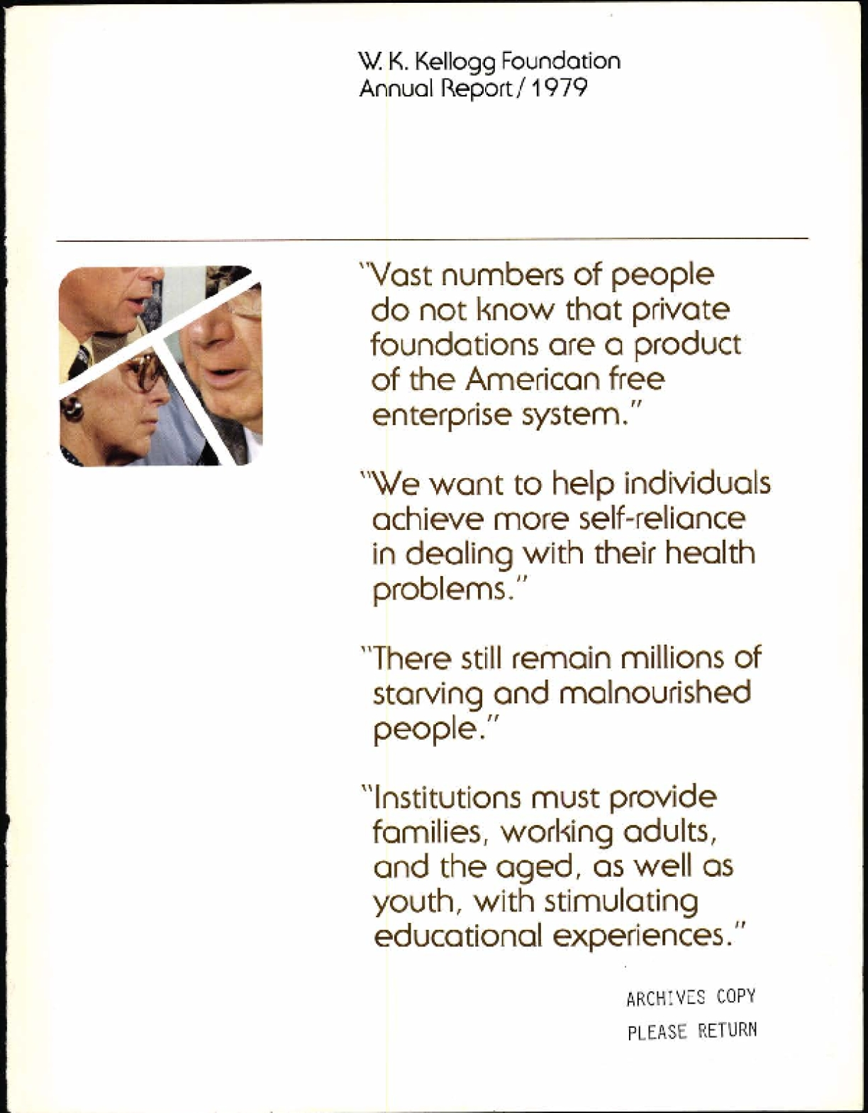 1979 W.K. Kellogg Foundation Annual Report