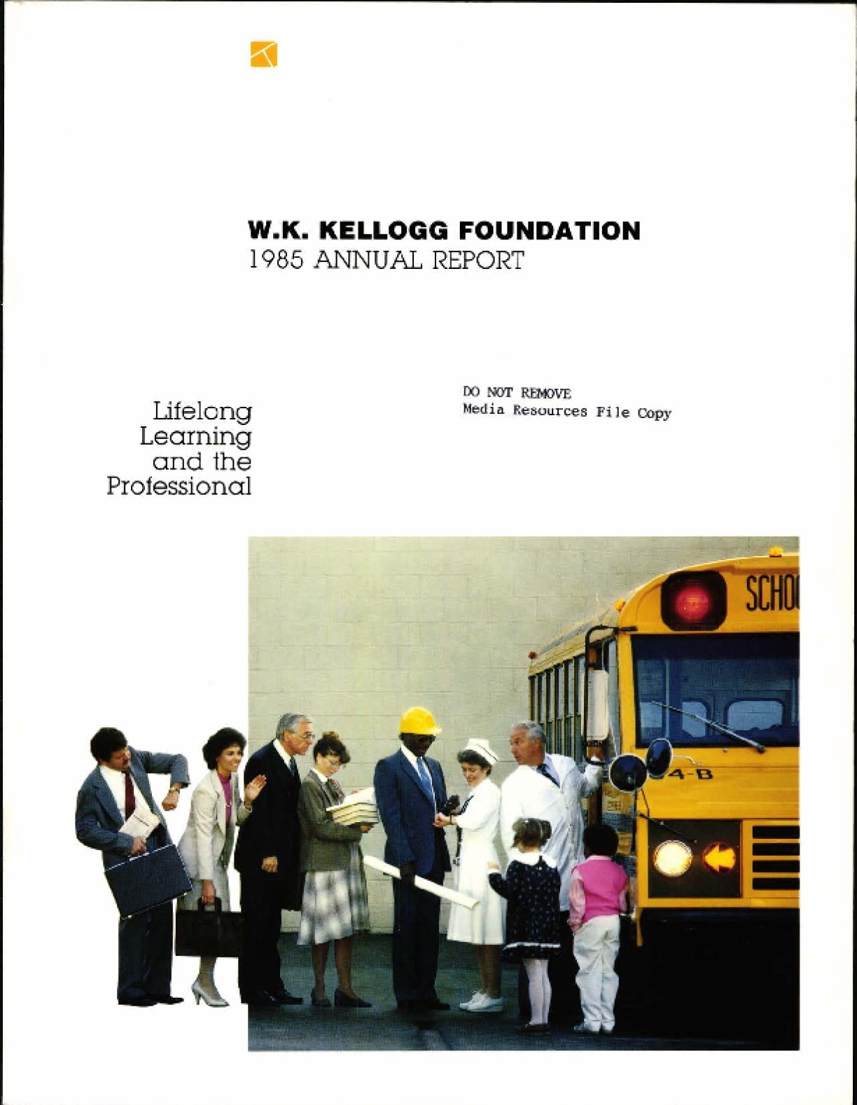 1985 W.K. Kellogg Annual Report