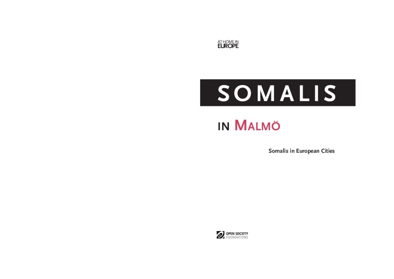 Somalis in Malmo