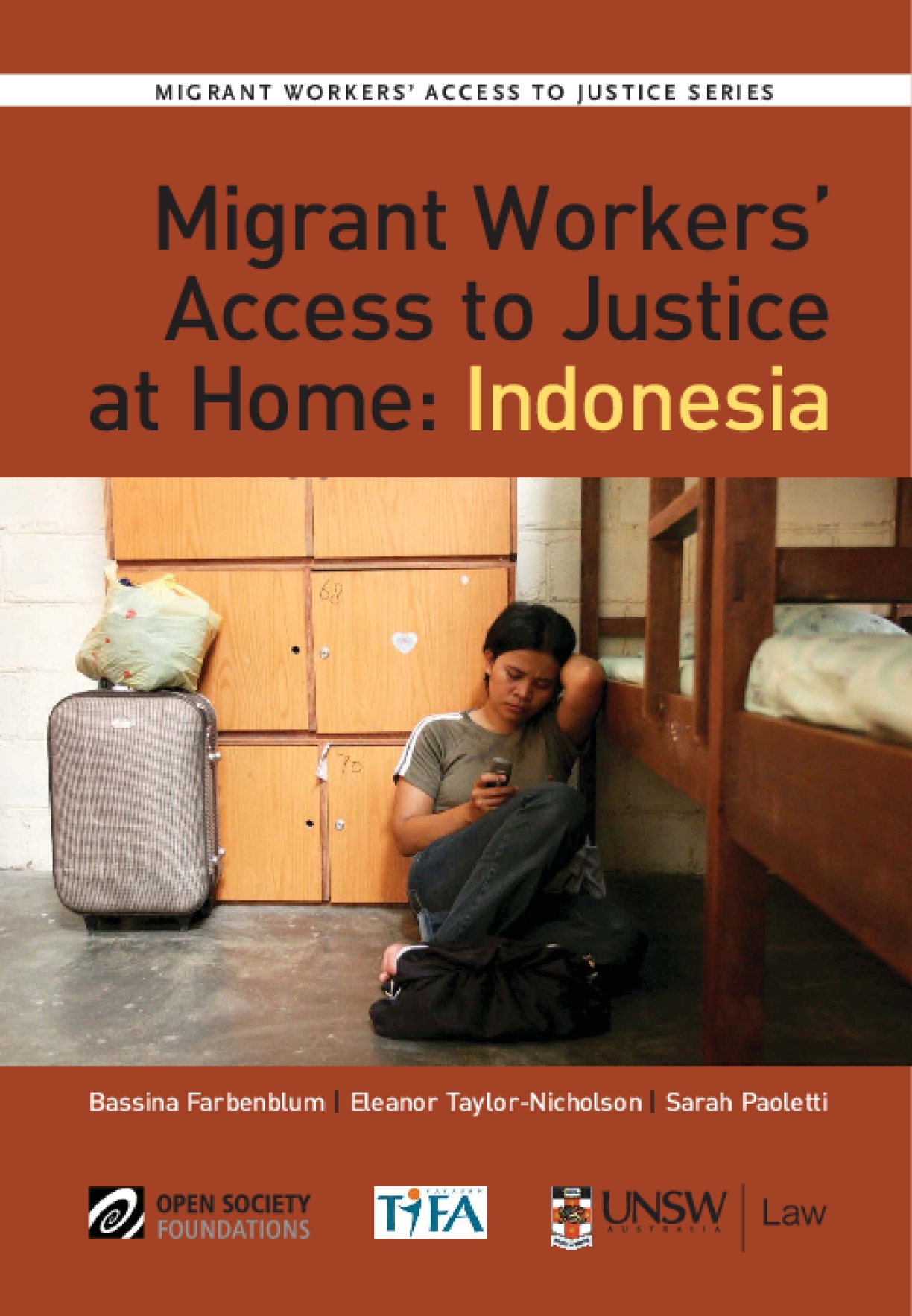 Migrant Workers' Access to Justice at Home: Indonesia