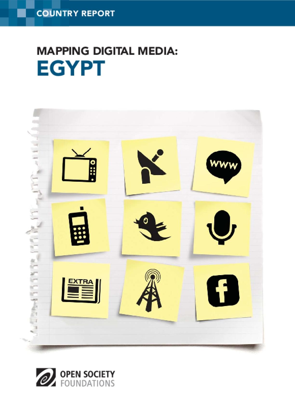Mapping Digital Media: Egypt