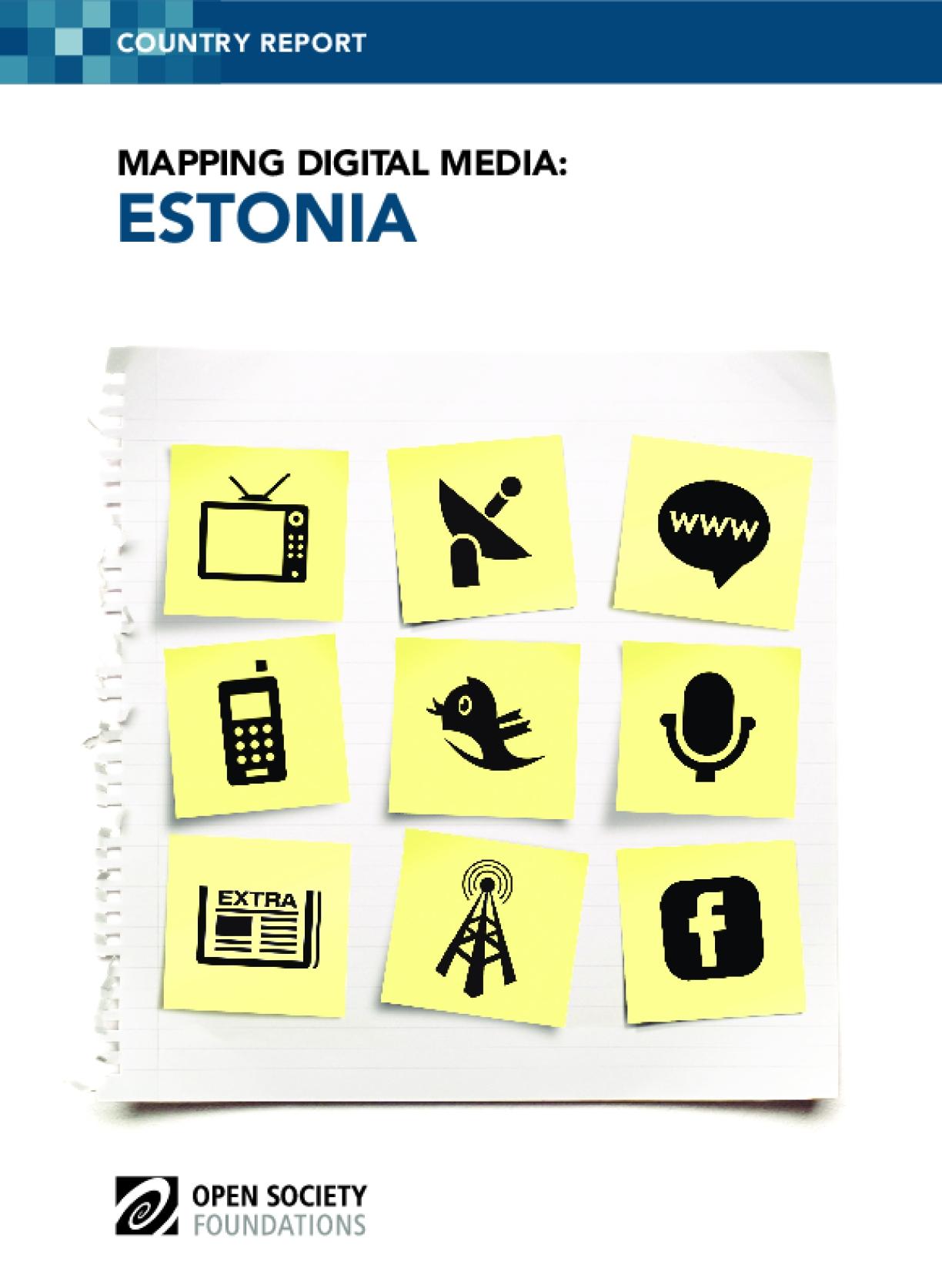 Mapping Digital Media: Estonia