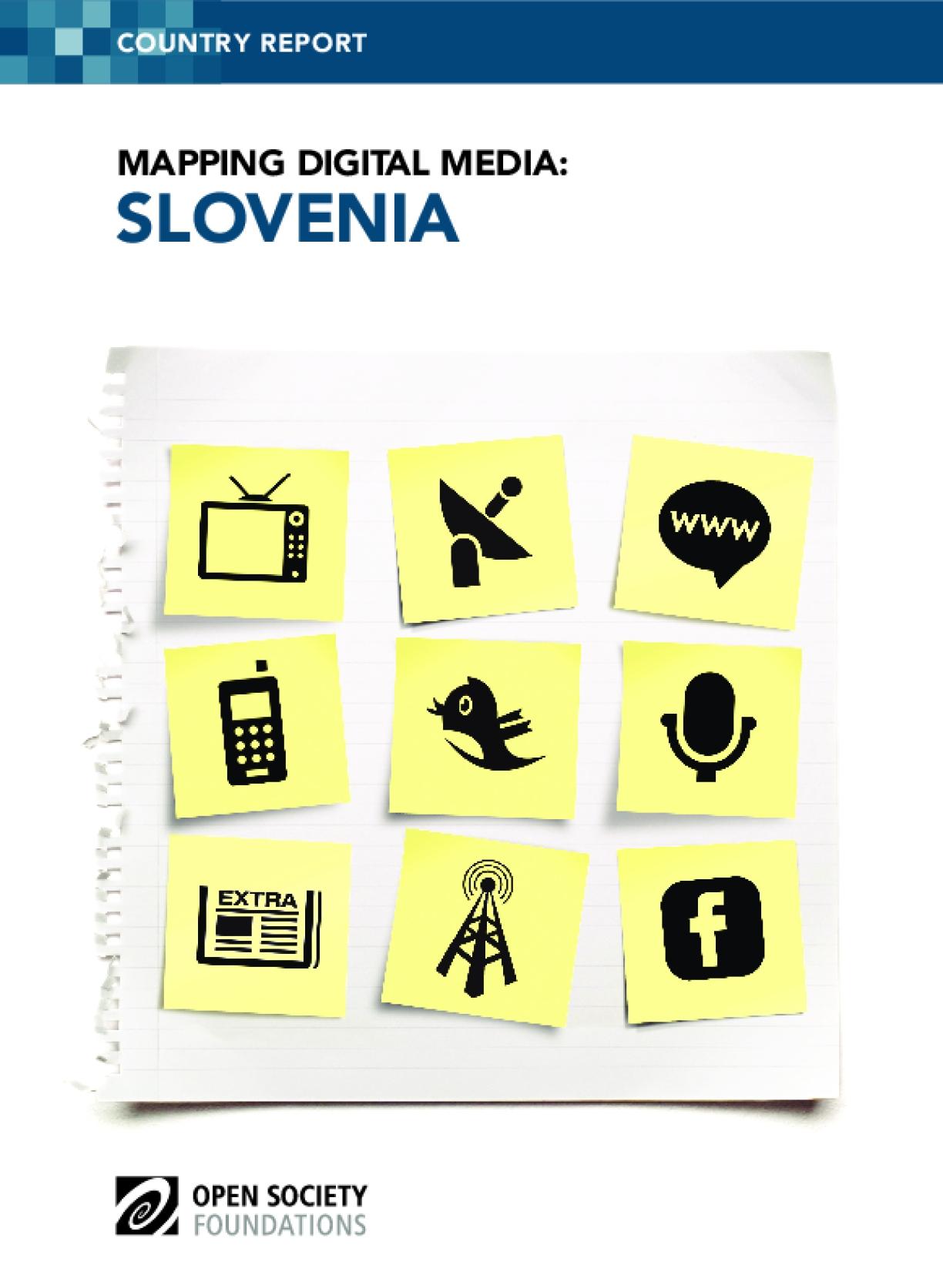 Mapping Digital Media: Slovenia