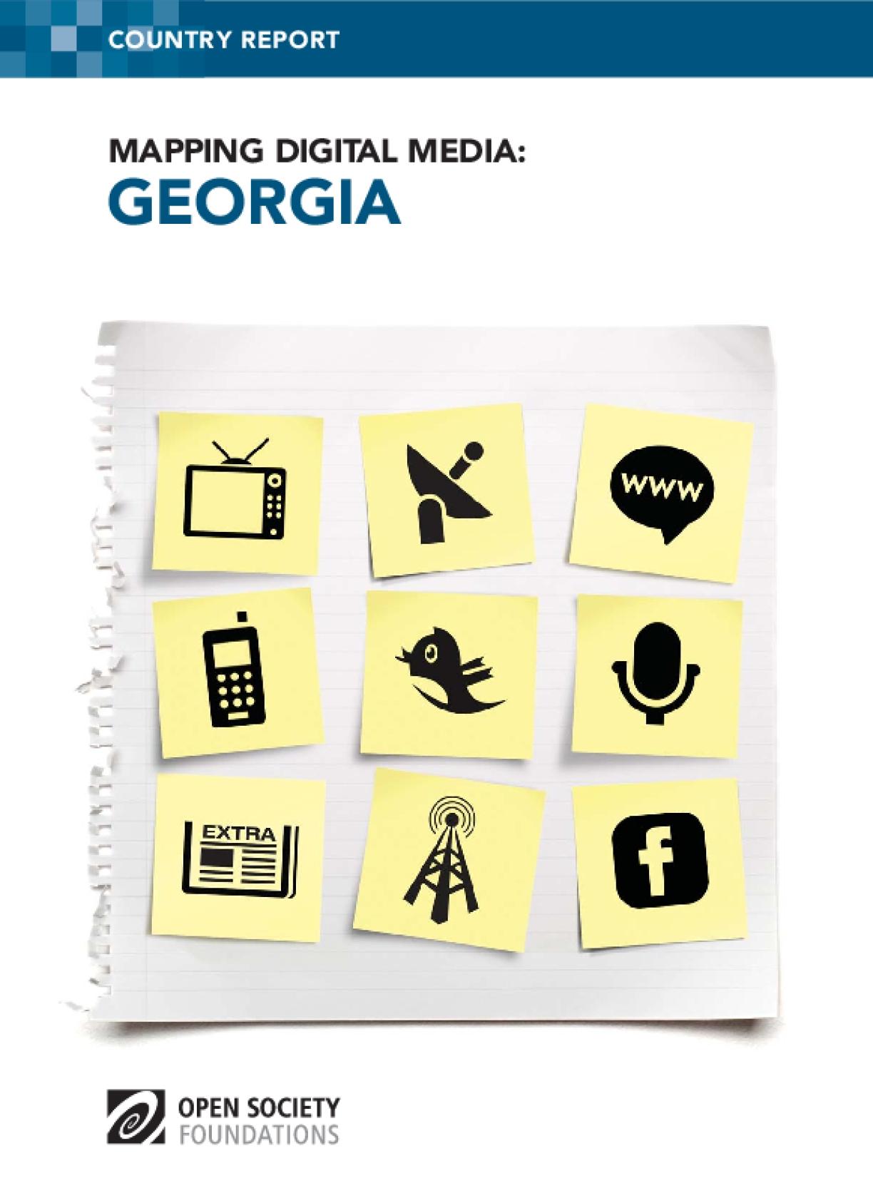 Mapping Digital Media: Georgia