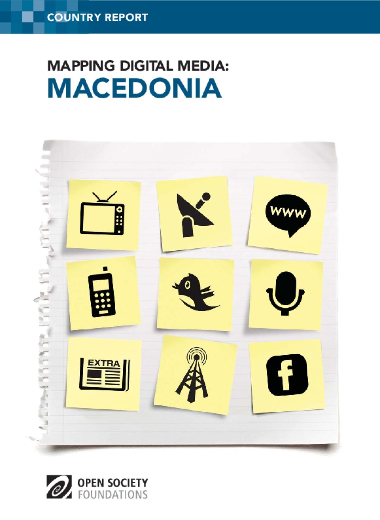 Mapping Digital Media: Macedonia
