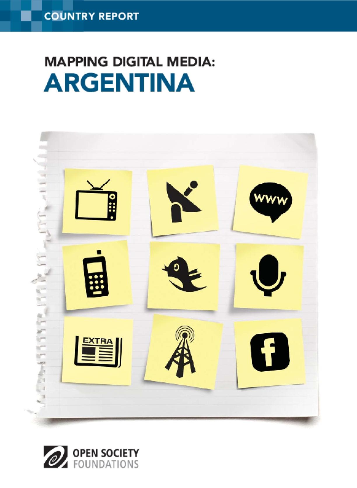 Mapping Digital Media: Argentina