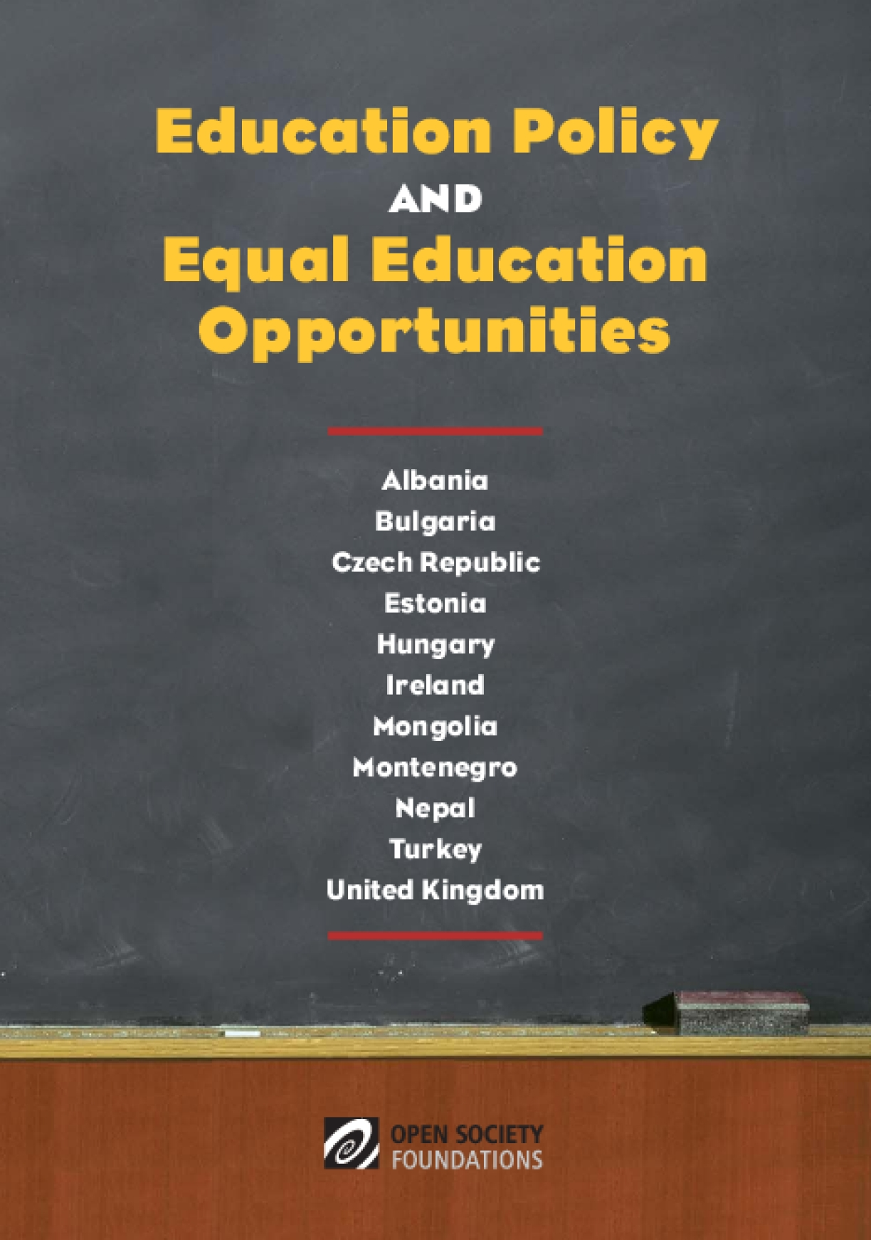 Education Policy and Equal Education Opportunities