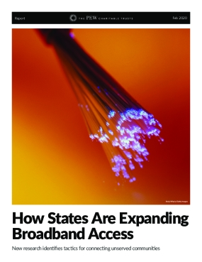 How States Are Expanding Broadband Access