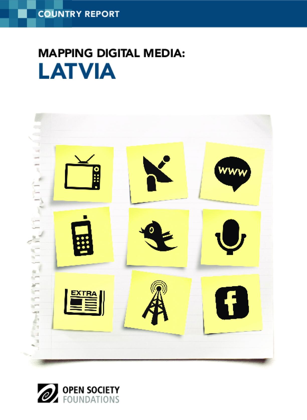 Mapping Digital Media: Latvia