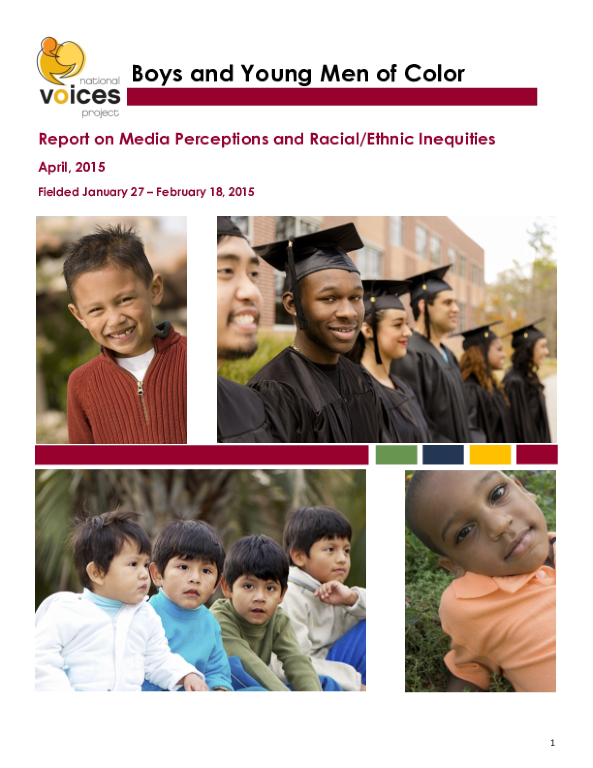 Boys and Young Men of Color: Report on Media Perceptions and Racial/Ethnic Inequities