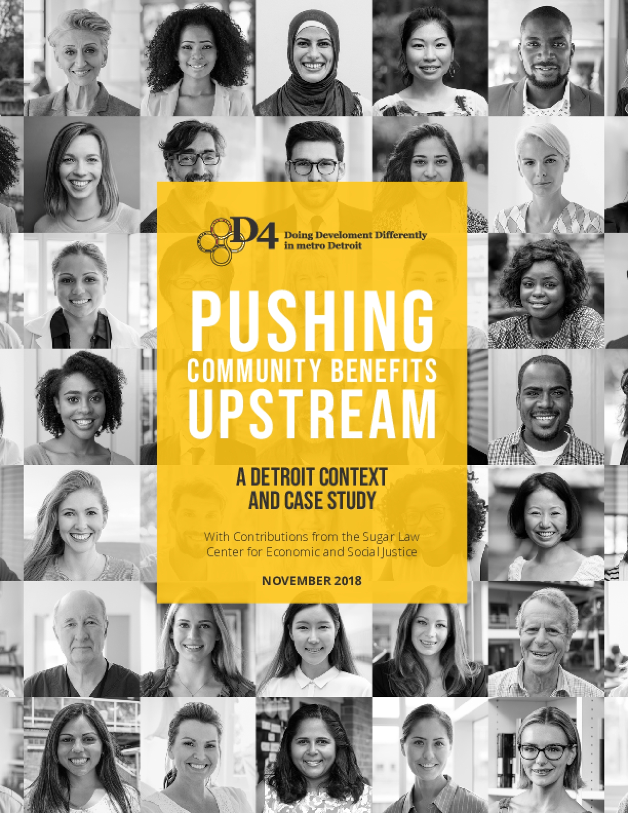 Pushing Community Benefits Upstream: A Detroit Context and Case Study