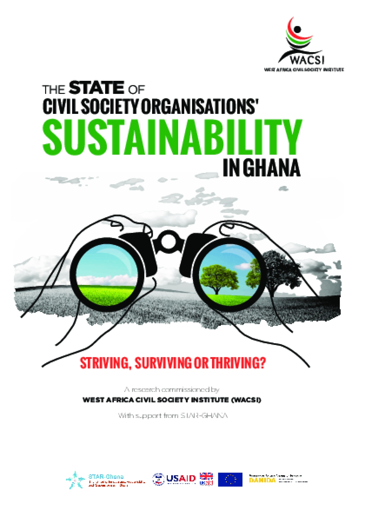 The State of Civil Society Organisations Sustainability in Ghana