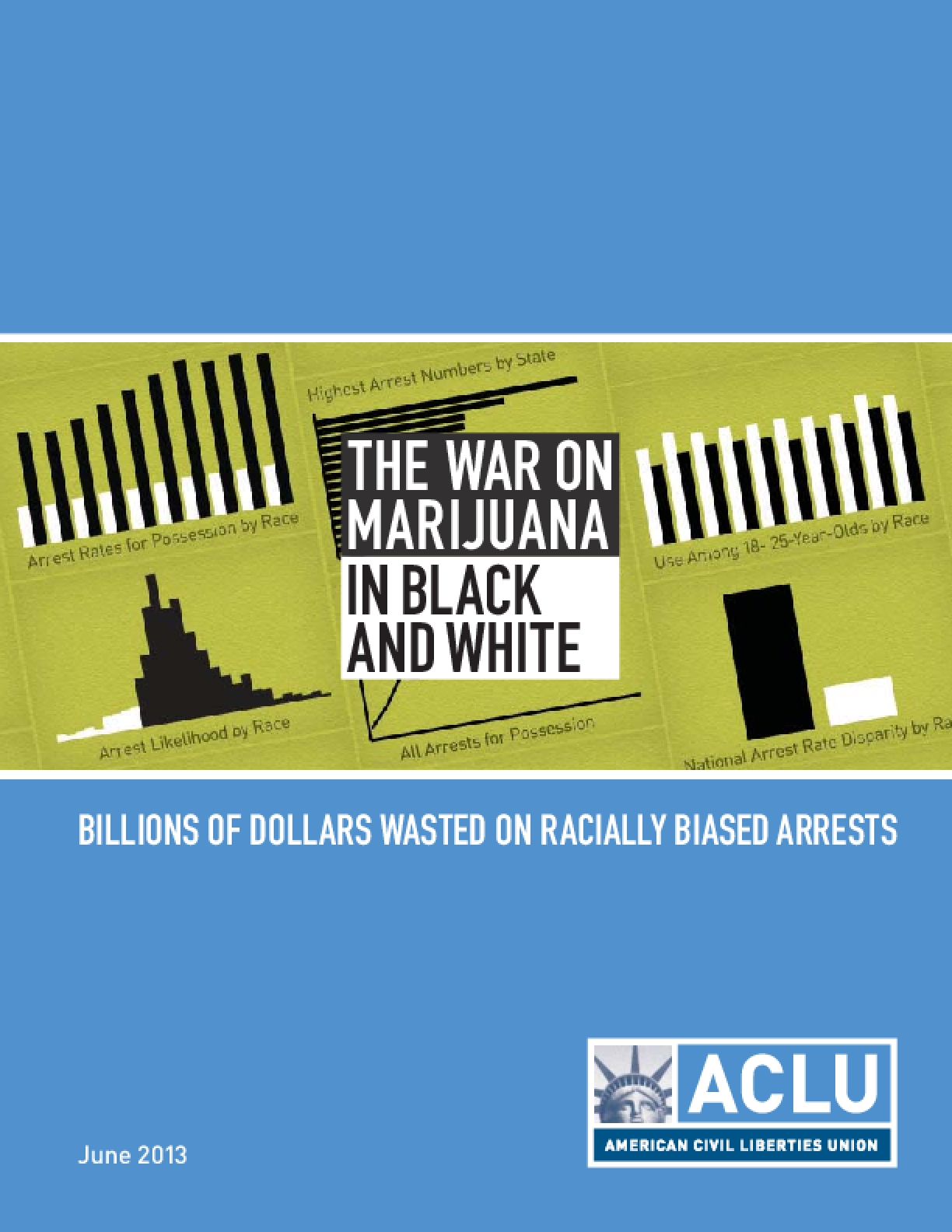 The War on Marijuana in Black and White: Billions of Dollars Wasted on Racially Biased Arrests