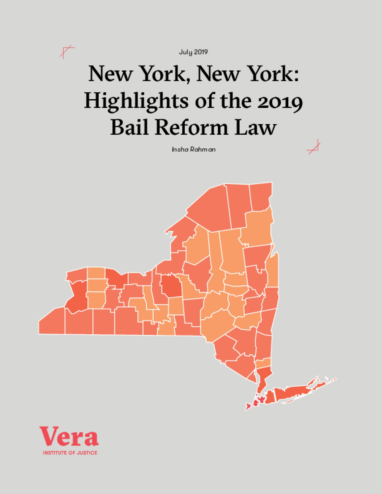 New York, New York: Highlights of the 2019 Bail Reform Law