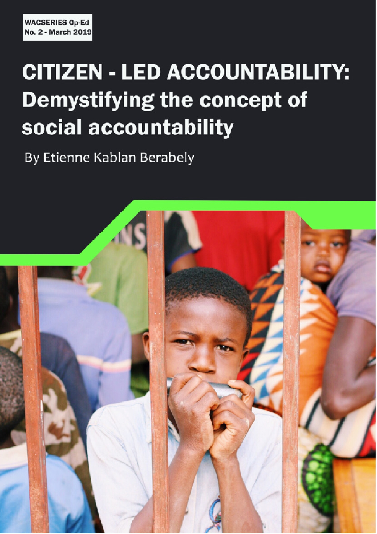 Citizen-Led Accountability: Demystifying the concept of social accountability