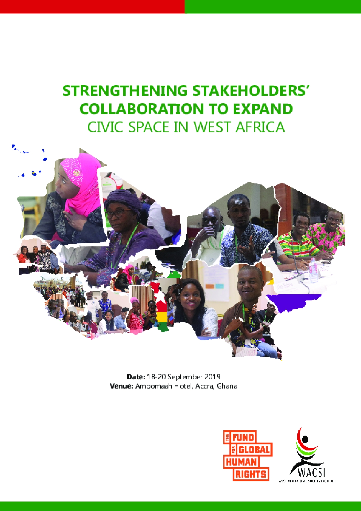 Strengthening Stakeholders' Collaboration to Expand Civic Space in West Africa