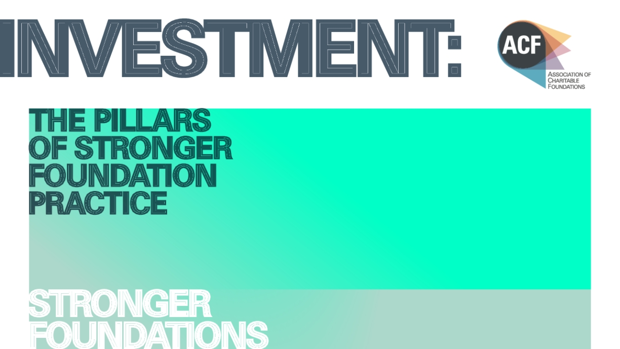 Investment: The Pillars of Stronger Foundation Practice