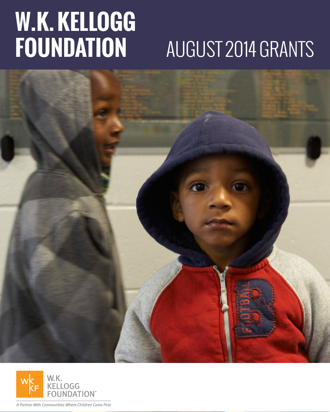 W.K. Kellogg Foundation August 2014 Grants