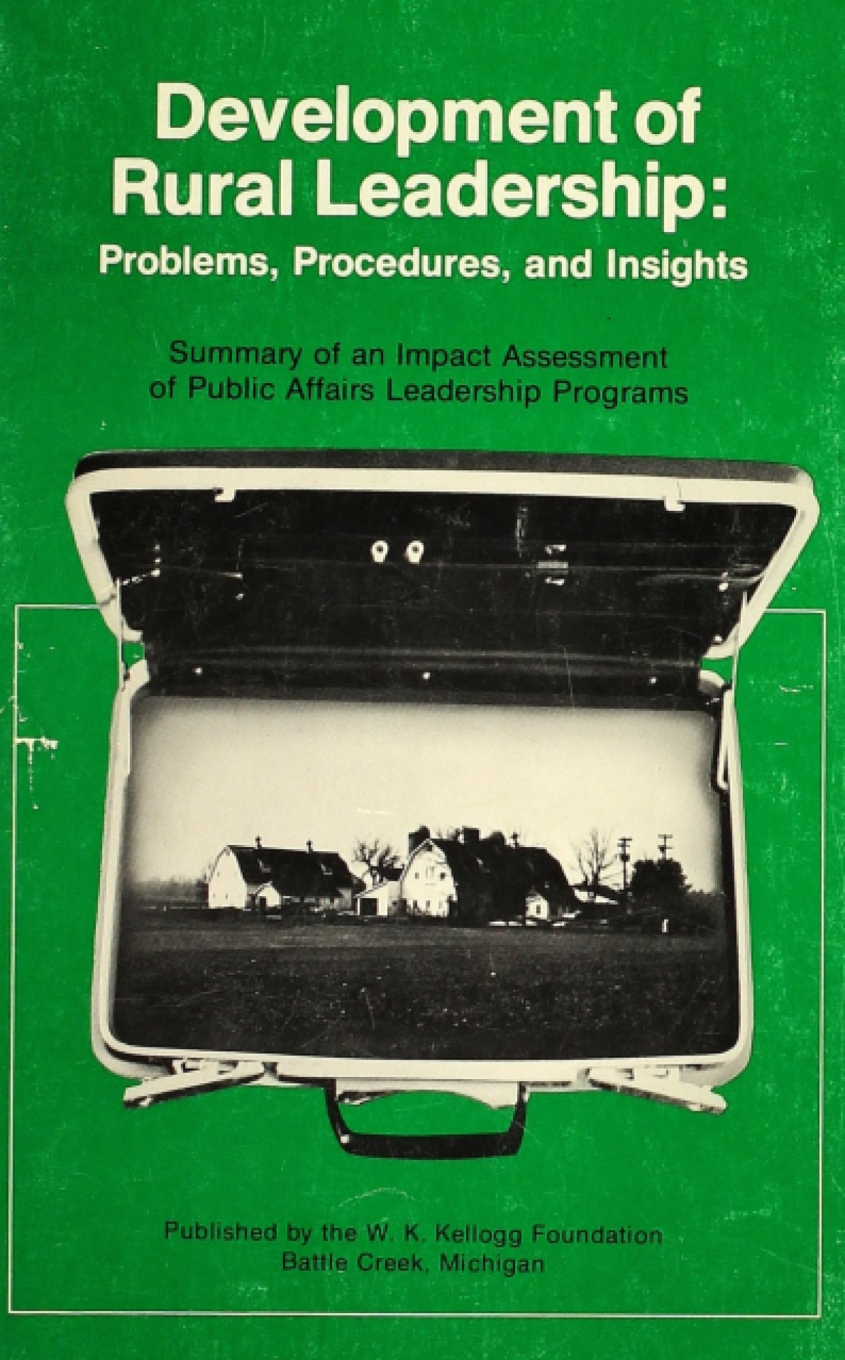 Development of Rural Leadership: Problems, Procedures, and Insights
