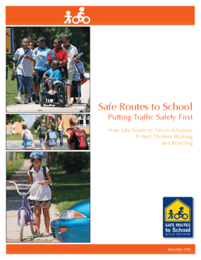 Safe Routes to School: Putting Traffic Safety First