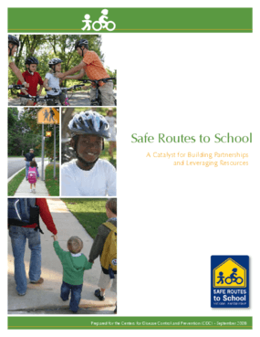 Safe Routes to School: A Catalyst for Building Partnerships and Leveraging Resources