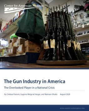 The Gun Industry in America: The Overlooked Player in a National Crisis