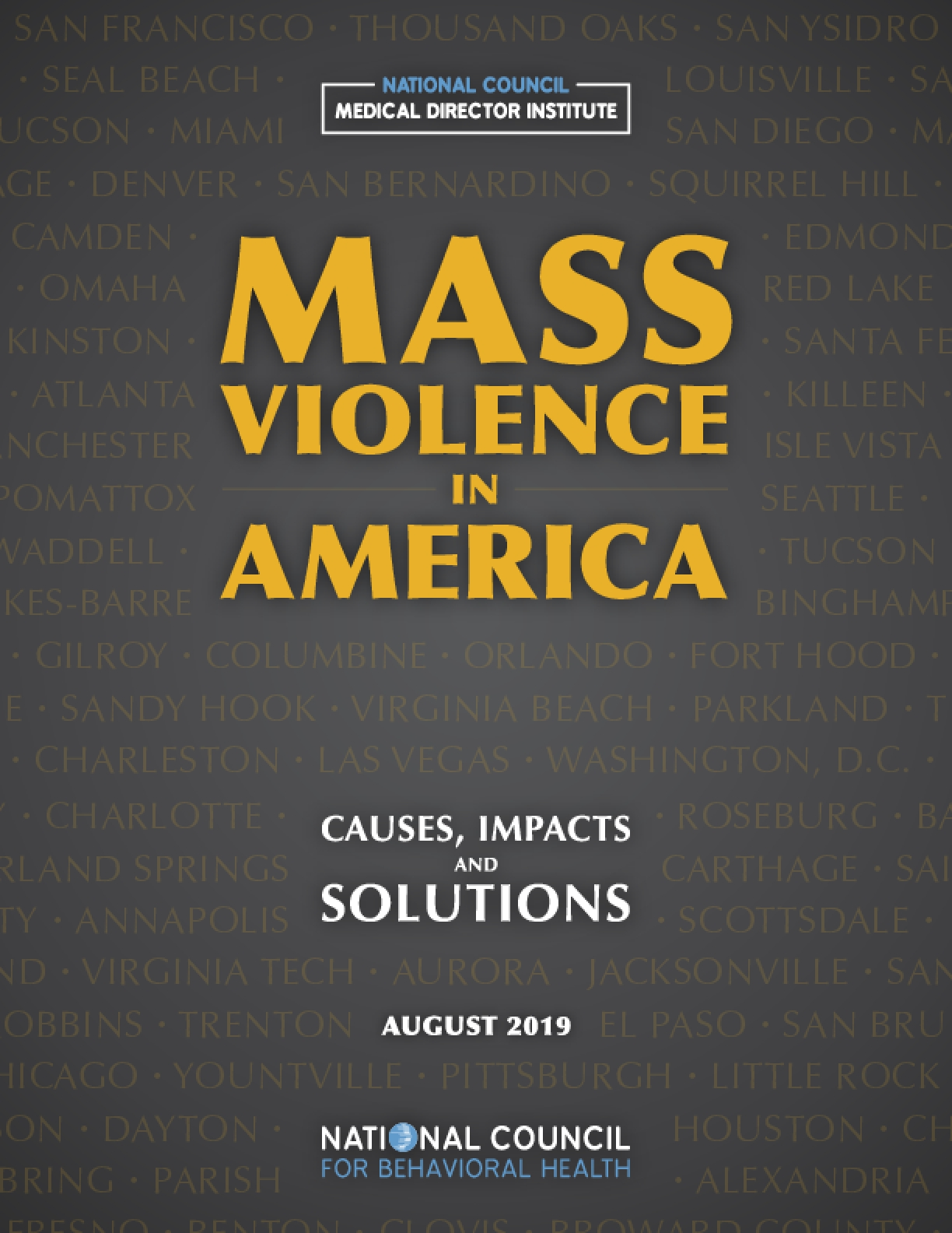 Mass Violence in America: Causes, Impacts, and Solutions