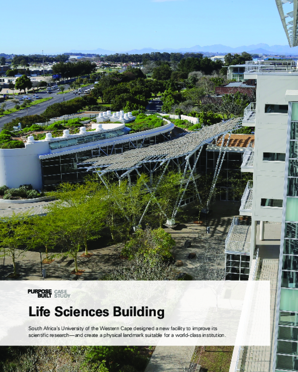 Purpose Built Case Study: Life Sciences Building