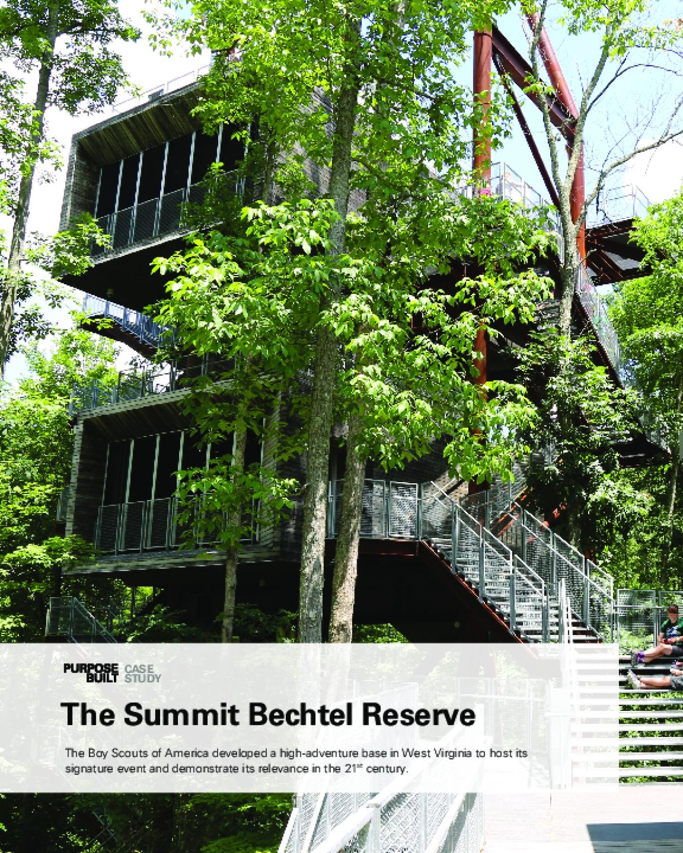 Purpose Built Case Study: The Summit Bechtel Reserve