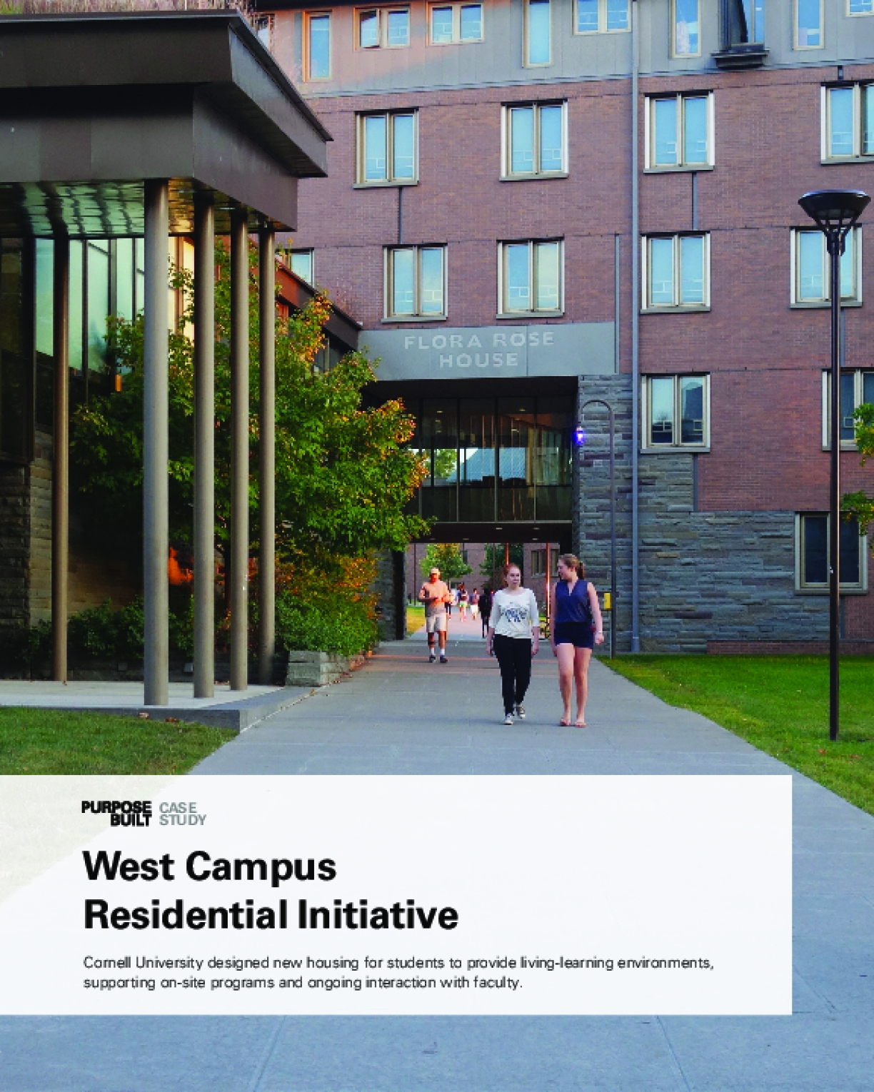 Purpose Built Case Study: West Campus Residential Initiative