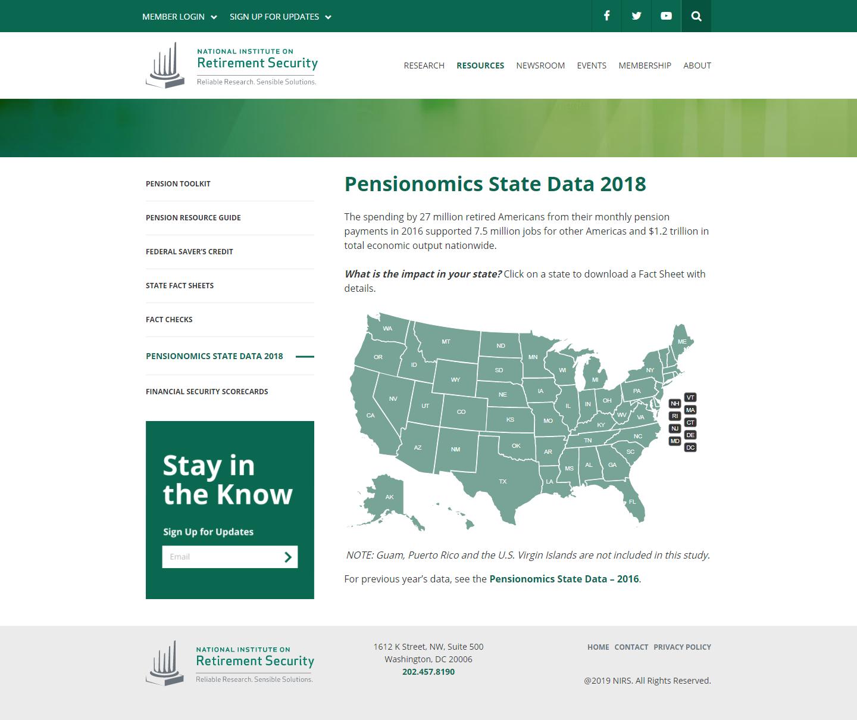 Pensionomics State Data 2018
